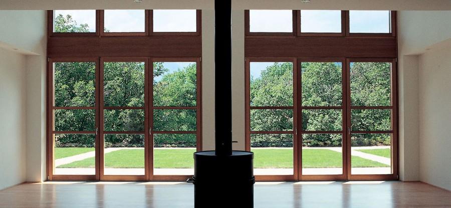 Casa in teak studio gerosa for Progetti design interni