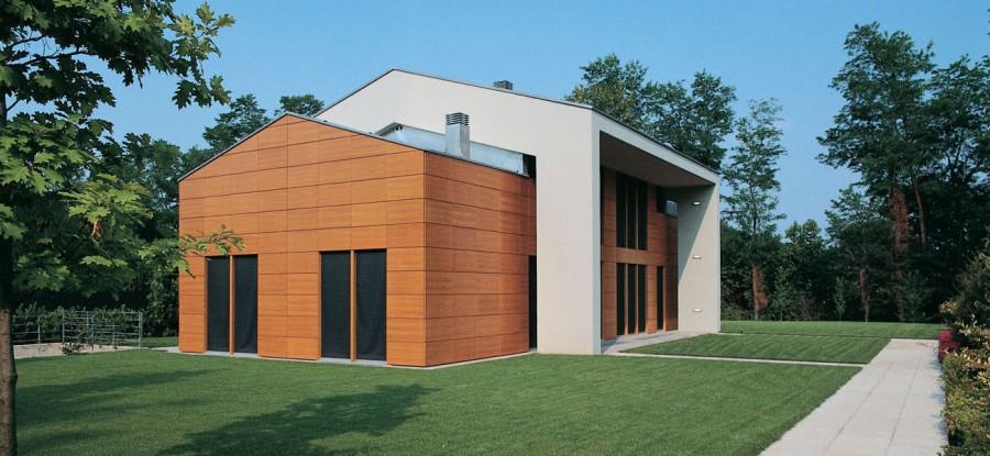 Casa in teak studio gerosa for Piccola casa moderna progetta un piano
