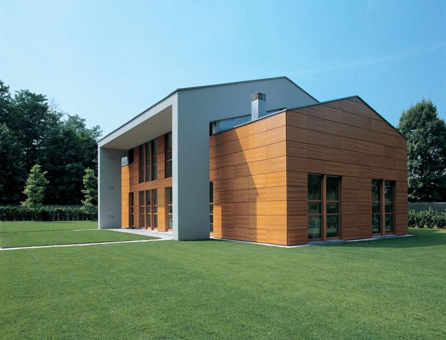 Casa in teak studio gerosa for Progetto casa moderna